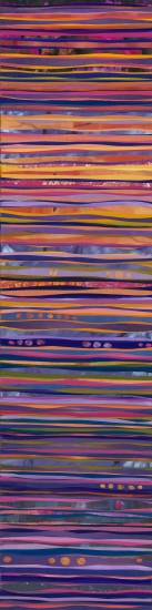 Bettina Sego, After Sunset, 48x12 (sold)