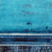 Blue Lines 2, 24x18, Mixed Media on Board with Resin thumbnail
