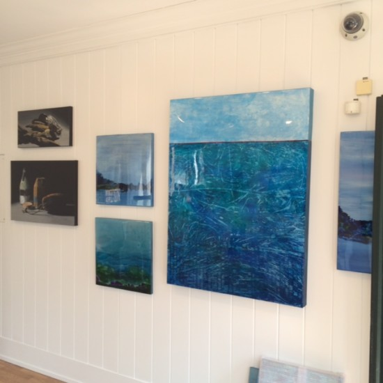 Solo exhibition at Sedacca Gallery on Martha's  Vineyard