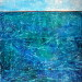 Into the BlueI,, 48x36, mixed media on board with resin (sold) thumbnail