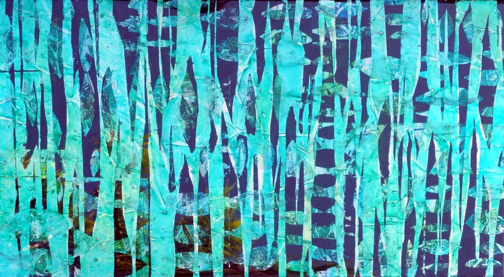 Bettina Sego, Midori, River of Grass, horizonta, 30x55 (sold)
